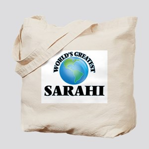 World's Greatest Sarahi Tote Bag